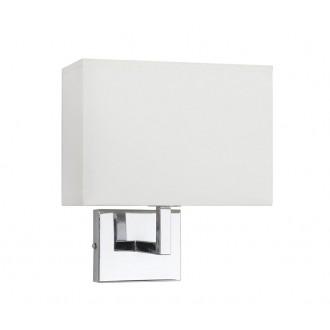 NOWODVORSKI 4730 | Hotel Nowodvorski zidna svjetiljka 1x E27 krom, bijelo