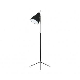 NOWODVORSKI 4750 | ChesterN Nowodvorski podna svjetiljka 130cm s prekidačem s podešavanjem visine 1x E27 crno, krom