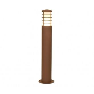 NOWODVORSKI 4906 | HornN Nowodvorski podna svjetiljka 65cm za štednu žarulju 1x E27 IP44 smeđe, bijelo