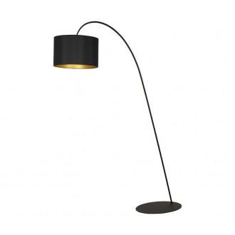 NOWODVORSKI 4963 | AliceN Nowodvorski podna svjetiljka 205cm s prekidačem 1x E27 crno, zlatno