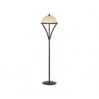 NOWODVORSKI 4997 | Baron Nowodvorski podna svjetiljka 165cm s prekidačem 3x E27 bronca, bež