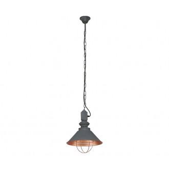 NOWODVORSKI 5053 | Loft Nowodvorski visilice svjetiljka 1x E27 taupe, crveni bakar
