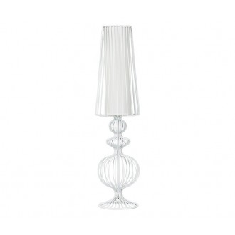 NOWODVORSKI 5125 | Aveiro Nowodvorski stolna svjetiljka 78cm s prekidačem 1x E27 bijelo