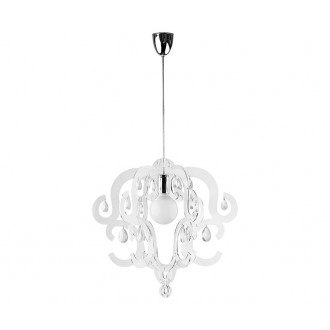 NOWODVORSKI 5210 | Katerina Nowodvorski visilice svjetiljka 1x E27 prozirno