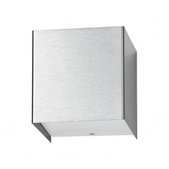 NOWODVORSKI 5267 | CubeN Nowodvorski zidna svjetiljka 1x G9 srebrno