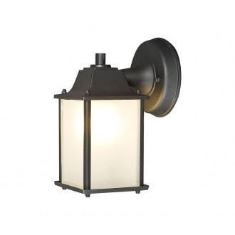 NOWODVORSKI 5290 | Spey Nowodvorski zidna svjetiljka 1x E27 IP23 tamno siva, opal