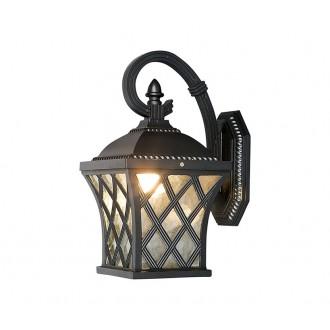 NOWODVORSKI 5292 | Tay Nowodvorski zidna svjetiljka 1x E27 IP23 tamno siva, prozirna
