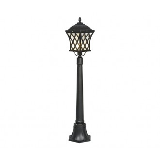 NOWODVORSKI 5294 | Tay Nowodvorski podna svjetiljka 112cm 1x E27 IP23 crno, prozirna