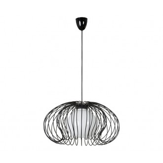 NOWODVORSKI 5296 | Mersey Nowodvorski visilice svjetiljka 1x E27 crno, opal
