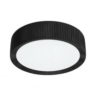 NOWODVORSKI 5348 | Alehandro Nowodvorski stropne svjetiljke svjetiljka 3x E27 crno, opal