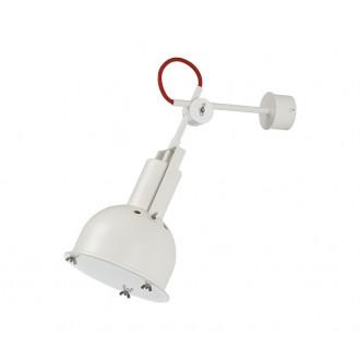 NOWODVORSKI 5524 | Industrial-2 Nowodvorski zidna svjetiljka elementi koji se mogu okretati 1x E27 bijelo, crveno