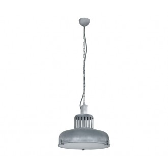 NOWODVORSKI 5534 | Industrial Nowodvorski visilice svjetiljka 3x E27 beton, bijelo