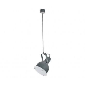 NOWODVORSKI 5647 | Industrial-2 Nowodvorski visilice svjetiljka elementi koji se mogu okretati 1x E27 beton, bijelo