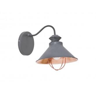 NOWODVORSKI 5665   Loft Nowodvorski zidna svjetiljka 1x E27 taupe, crveni bakar