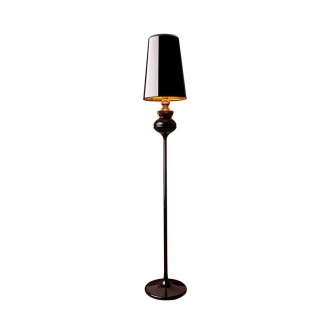 NOWODVORSKI 5755 | Alaska_Black Nowodvorski podna svjetiljka 175cm s prekidačem 1x E27 crno