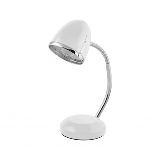 NOWODVORSKI 5794 | Pocatello Nowodvorski stolna svjetiljka 36cm s prekidačem fleksibilna 1x E27 bijelo, krom