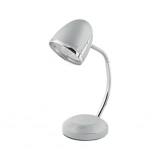 NOWODVORSKI 5795 | Pocatello Nowodvorski stolna svjetiljka 36cm s prekidačem fleksibilna 1x E27 srebrno, krom