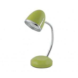 NOWODVORSKI 5796 | Pocatello Nowodvorski stolna svjetiljka 36cm s prekidačem fleksibilna 1x E27 zeleno, krom
