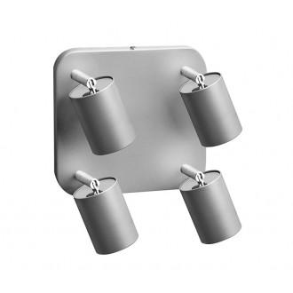 NOWODVORSKI 5844 | Nowodvorski spot svjetiljka elementi koji se mogu okretati 4x GU10 srebrno