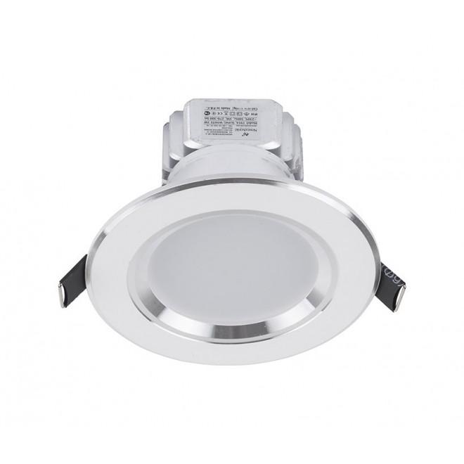 NOWODVORSKI 5954 | Ceiling-LED Nowodvorski ugradbena svjetiljka Ø100mm 1x LED 300lm 4000K bijelo