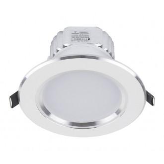 NOWODVORSKI 5956 | Ceiling-LED Nowodvorski ugradbena svjetiljka Ø120mm 1x LED 700lm 4000K bijelo