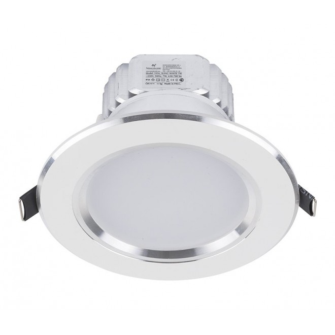 NOWODVORSKI 5956   Ceiling-LED Nowodvorski ugradbena svjetiljka Ø120mm 1x LED 700lm 4000K bijelo
