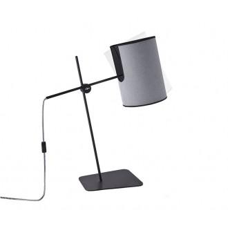 NOWODVORSKI 6012   Zelda Nowodvorski stolna svjetiljka 65cm sa prekidačem na kablu elementi koji se mogu okretati 1x E27 sivo, crno