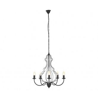 NOWODVORSKI 6328 | MargaretN Nowodvorski luster svjetiljka 5x E14 crno