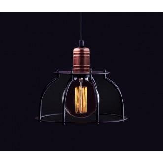 NOWODVORSKI 6335 | Workshop Nowodvorski visilice svjetiljka 1x E27 crno, crveni bakar
