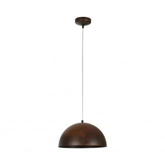 NOWODVORSKI 6367 | Hemisphere-Rust Nowodvorski visilice svjetiljka 1x E27 rdža smeđe