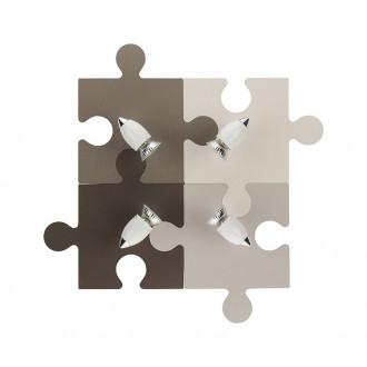 NOWODVORSKI 6382 | Puzzle Nowodvorski zidna, stropne svjetiljke svjetiljka elementi koji se mogu okretati 4x GU10 u bojama, bijelo, krom