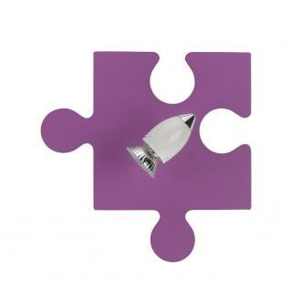 NOWODVORSKI 6383 | Puzzle Nowodvorski zidna svjetiljka elementi koji se mogu okretati 1x GU10 ljubičasta, bijelo, krom