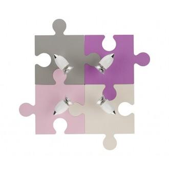 NOWODVORSKI 6384 | Puzzle Nowodvorski zidna svjetiljka elementi koji se mogu okretati 4x GU10 u bojama, bijelo, krom