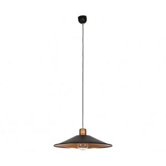 NOWODVORSKI 6444   Garret Nowodvorski visilice svjetiljka 1x E27 crno, crveni bakar