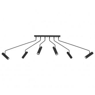 NOWODVORSKI 6505 | Eye-Black Nowodvorski stropne svjetiljke svjetiljka elementi koji se mogu okretati 6x GU10 crno