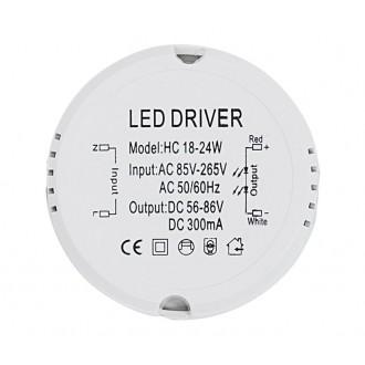 NOWODVORSKI 6577 | Nowodvorski LED napojna jedinica 300mA DC 18-24W 55-86V okrugli bijelo