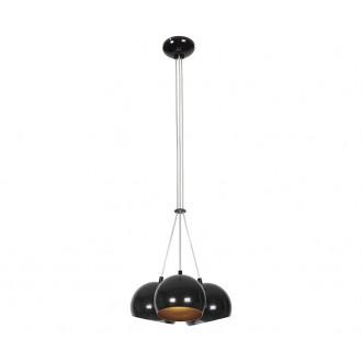 NOWODVORSKI 6587 | Ball Nowodvorski visilice svjetiljka 3x GU10 crno, zlatno