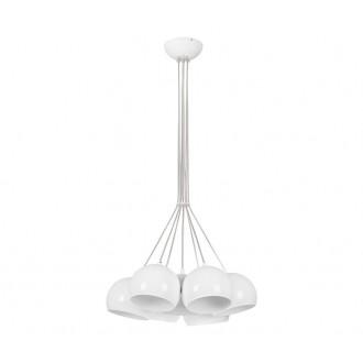 NOWODVORSKI 6601 | Ball Nowodvorski visilice svjetiljka 7x GU10 bijelo