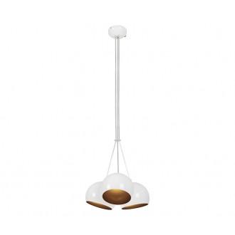 NOWODVORSKI 6603 | Ball Nowodvorski visilice svjetiljka 3x GU10 bijelo, zlatno