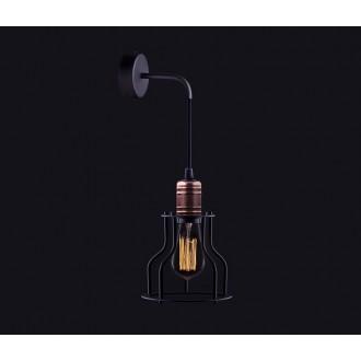 NOWODVORSKI 6606 | Workshop Nowodvorski zidna svjetiljka 1x E27 crno, crveni bakar