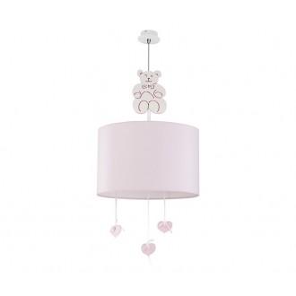 NOWODVORSKI 6615 | Honey Nowodvorski visilice svjetiljka 1x E27 ružičasto, bijelo