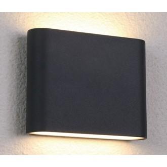 NOWODVORSKI 6775 | Semi Nowodvorski zidna svjetiljka 36x LED 242lm 3000K IP54 crno