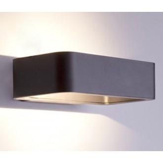 NOWODVORSKI 6776 | Muno Nowodvorski zidna svjetiljka 1x LED 242lm 3000K IP54 crno