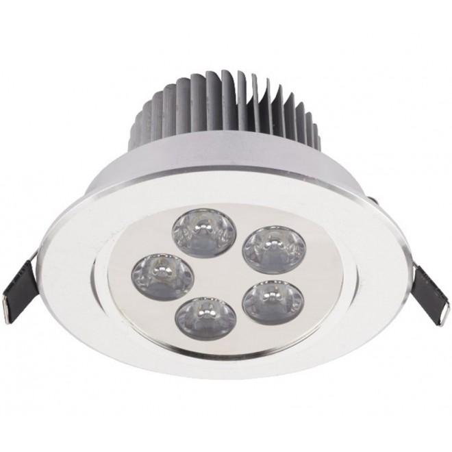 NOWODVORSKI 6822 | Downlight-LED Nowodvorski ugradbena svjetiljka pomjerljivo Ø108mm 1x LED 550lm 4000K bijelo