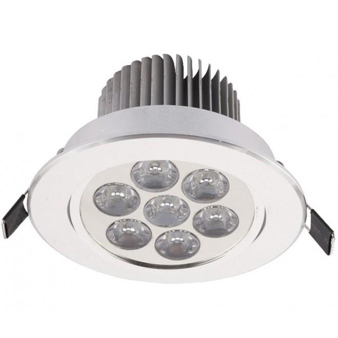 NOWODVORSKI 6823   Downlight-LED Nowodvorski ugradbena svjetiljka pomjerljivo Ø108mm 1x LED 770lm 4000K bijelo