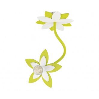 NOWODVORSKI 6897 | Flowers Nowodvorski zidna, stropne svjetiljke svjetiljka fleksibilna 1x GU10 zeleno, bijelo