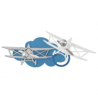 NOWODVORSKI 6903 | Plane Nowodvorski zidna, stropne svjetiljke svjetiljka elementi koji se mogu okretati 2x GU10 plavo, sivo, bijelo