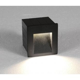 NOWODVORSKI 6907 | Step Nowodvorski ugradbena svjetiljka 1x LED 310lm 3000K IP44 grafit