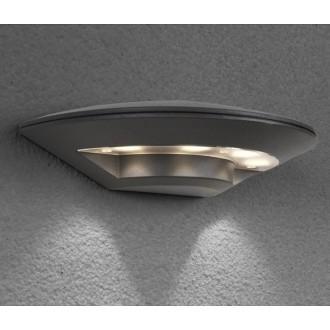 NOWODVORSKI 6910 | Disc Nowodvorski zidna svjetiljka 4x LED 350lm 3000K IP44 tamno siva