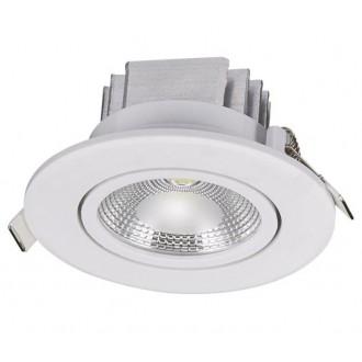 NOWODVORSKI 6971 | Ceiling-COB Nowodvorski ugradbena svjetiljka pomjerljivo Ø85mm 1x LED 380lm 3000K bijelo